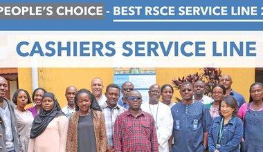 regional service centre entebbe international client service week customer cashiers service line yannick van winkel