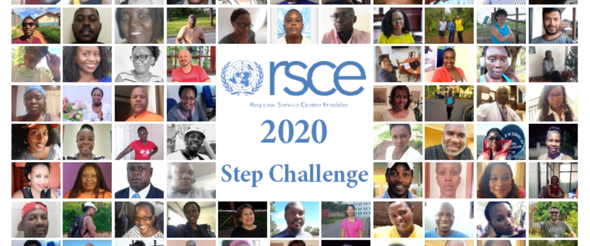 rsce step challenge 2020 united nations elise aaland yannick van winkel covid19