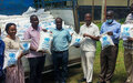 Entebbe UN National Staff Donates 6m Food Worth to Community