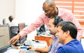 Umoja Technical and Support Staff Undergo Galileo Decommissioning Project Teach-Back Training