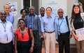 RSCE Team visits the MINUSCA Mission in Bangui